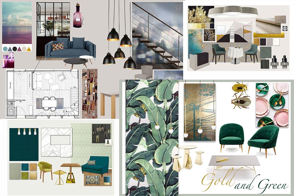 Caroline tissier prestations architecture design int rieur for Cours en design interieur